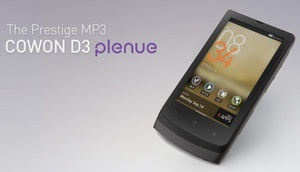 Cowon launches Android-based D3 Plenue PMP