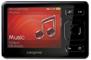 New Creative slim PMP can support iTunes Plus tracks