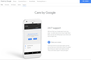 Google Pixel live support includes screen sharing
