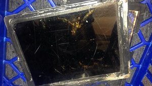 iPad explodes in Vodafone store