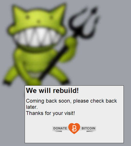 Demonoid is coming back, asks for donations in Bitcoin