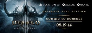 Diablo III expansion to see multi-platform launch on August 19th