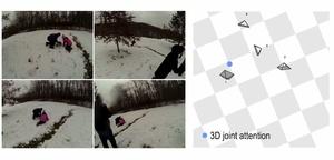 Usealla kameralla kuvattu video leikkautuu automaattisesti ihmissilmää miellyttäväksi