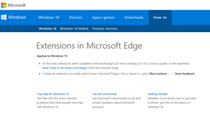 Microsoft has added new extensions to its Edge browser