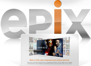 Epix to provide 720p streaming of major motion pictures