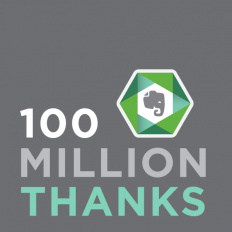 Evernote reaches 100 million user milestone