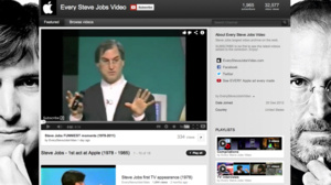 New YouTube channel hosts every Steve Jobs video, ever