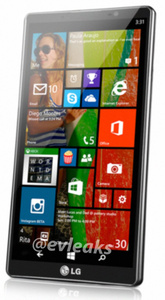 Leaked photo reveals LG's first Windows Phone 8 device