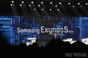 Samsung unveils 8-core Exynos 5