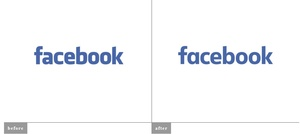 Facebook changes its logo, kinda
