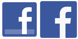 Facebook redesigns logo, icons