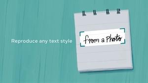 Kirjoita käsin yksi sana, tekoäly luo sinulle ikioman, täydellisen fontin