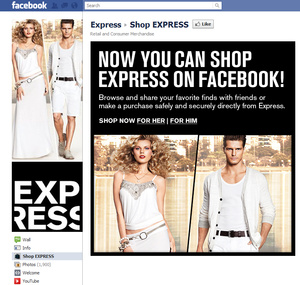 'Express' makes entire catalog available through Facebook