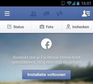 Facebook Home voor niet-ondersteunde apparaten en niet-Amerikanen