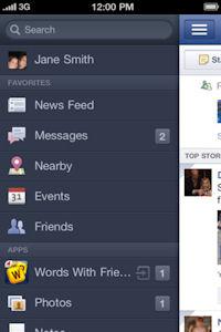 Facebook fixes iPhone app bug