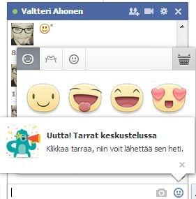 Nu ook Facebook stickers vanaf de desktop