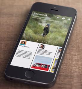 Paper, nieuwe iPhone Facebook-app installeren vanuit Nederland