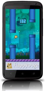Flappy Bird leeft verder als Flappy Doge