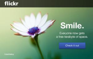 Nieuwe Flickr biedt gebruikers gratis 1 TB opslagruimte