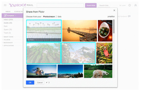 Yahoo integrates Flickr into email service
