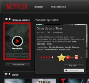 Met Chrome extensie Netflix naar wens aanpassen