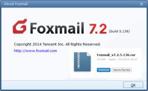 Update e-mailprogramma Foxmail