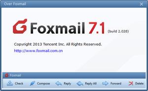 Nieuwe Foxmail met een nieuwe interface