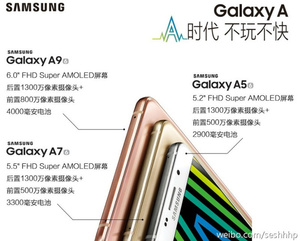 Samsung Galaxy A9 with massive battery headed to China