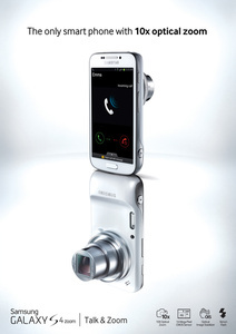 Camera/smartphone hybrid, Samsung Galaxy S4 Zoom, now available in Europe