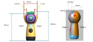 Samsungin uusi Gear 360 paljastuu viraston dokumenteista, pallokameralle uusi muotoilu