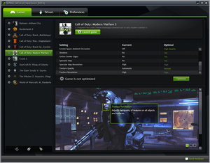 Nvidia GeForce Experience out of closed beta