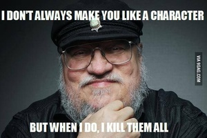 Facebook employee wins right to get killed by George RR Martin in next 'Song of Ice and Fire' book