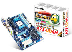 Gigabyte intros A75 motherboards for AMD Llano APUs