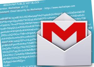 Gmail berichten versleutelen met PGP