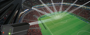 Jalkapallon MM-kisojen tuomarit tietävät maalin tulleen, kun kello värisee