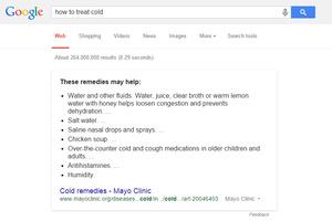 Google korostaa haussa terveystietoa