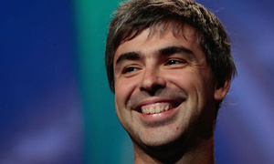 Larry Page's voice has still not recovered, fully