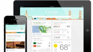 'Google Now' released for iOS devices