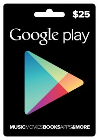 Google Play giftcards headed to GameStop, Target first
