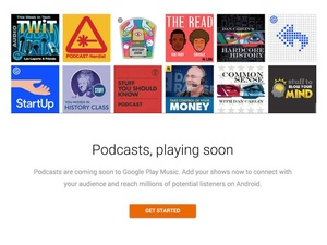 Google to add podcasting to its Play Music service