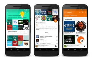 As rumored, Google Play Music adds Podcasts