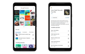 Google launches dedicated podcast app