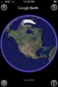 Google Earthin karttojen ulkonäkö parani