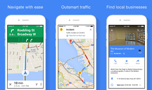 Google Maps for iOS gets major update including offline navigation