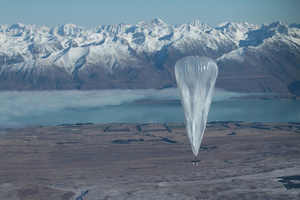 Google wants to beam Internet from balloons