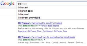 Google verwijdert 'BitTorrent' van zwarte lijst
