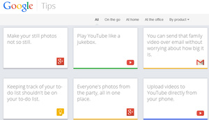 Google launches 'Google Tips' help pages for current consumer product lineup