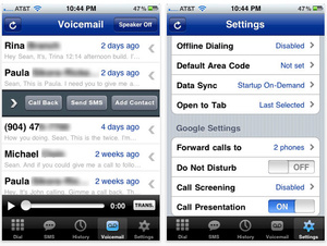 Apple approves iPhone Google Voice related apps