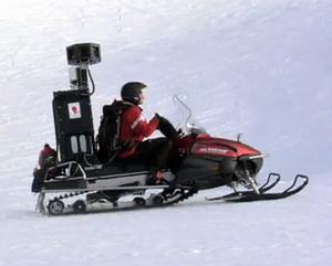 Google kiinnitti Street View -kamerat moottorikelkkaan