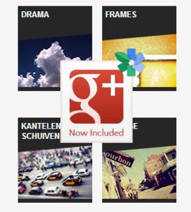 Google's Snapseed nu onderdeel van Google+